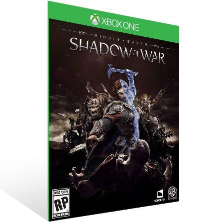 Middle Earth: Shadow of War - Xbox One Live Mídia Digital