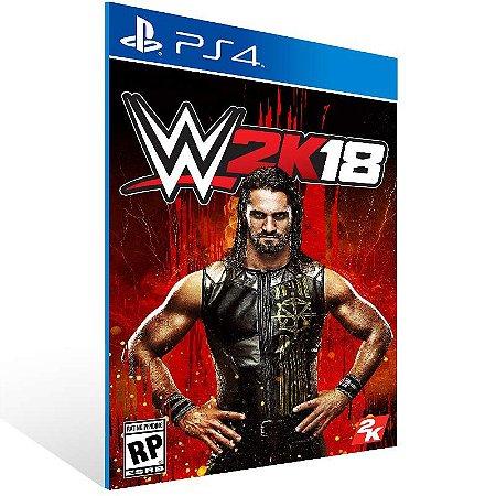 WWE 2K18 - Ps4 Psn Mídia Digital