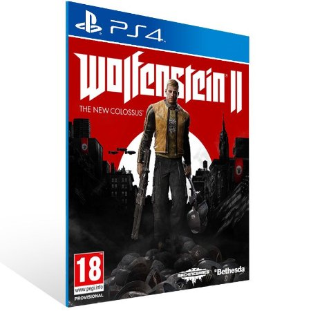 Wolfenstein 2 The New Colossus - Ps4 Psn Mídia Digital