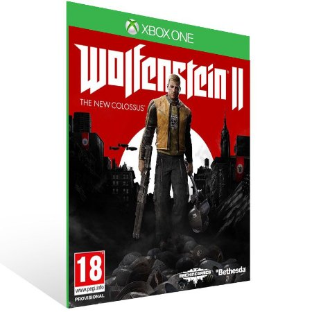 Wolfenstein 2: The New Colossus - Xbox One Live Mídia Digital