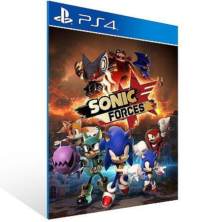 Sonic Forces Digital Bonus Edition - Ps4 Psn Mídia Digital