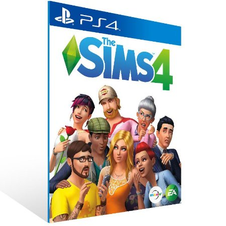 The Sims 4 - Ps4 Psn Mídia Digital