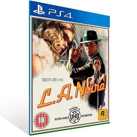 L.A. Noire - PS4 Psn Mídia Digital
