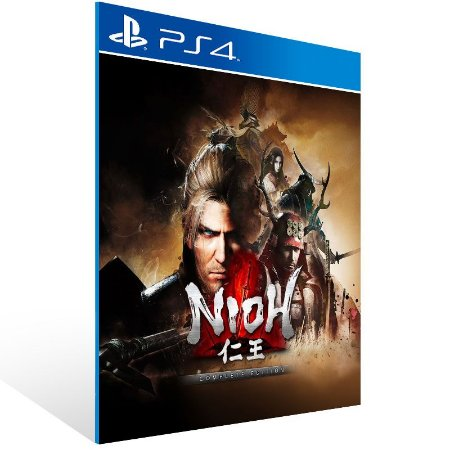 Nioh The Complete Edition - Ps4 Psn Mídia Digital