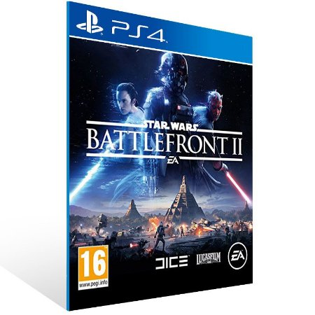 Star Wars Battlefront 2 - Ps4 Psn Mídia Digital
