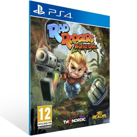 Rad Rodgers - Ps4 Psn Mídia Digital