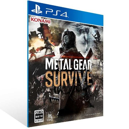 Metal Gear Survive - Ps4 Psn Mídia Digital