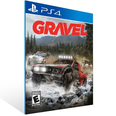 Gravel - Ps4 Psn Mídia Digital