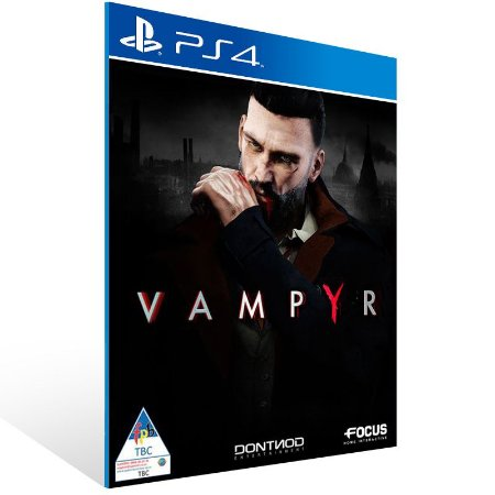 Vampyr - Ps4 Psn Mídia Digital