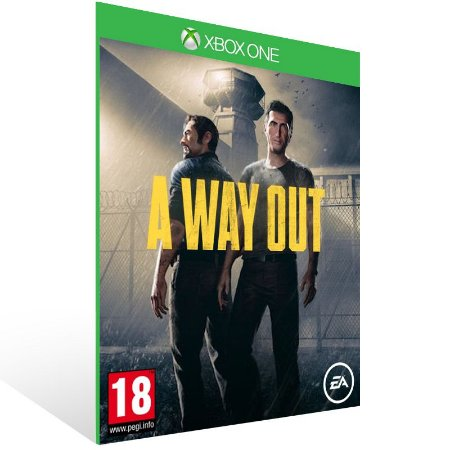 A Way Out - Xbox One Live Mídia Digital