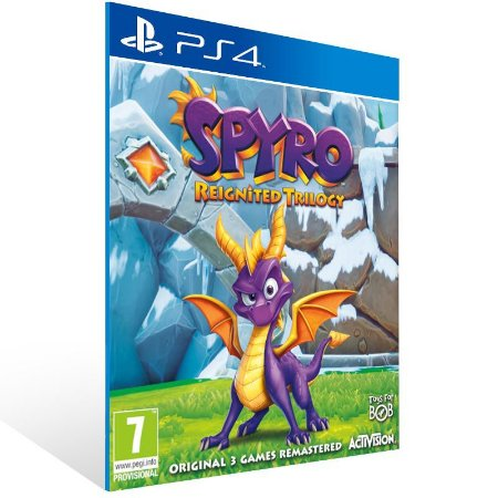 Spyro Reignited Trilogy - Ps4 Psn Mídia Digital