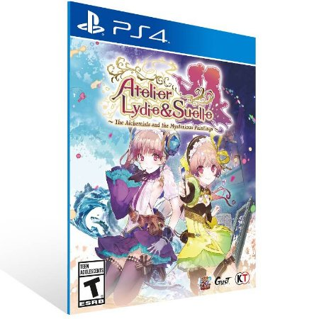 Atelier Lydie & Suelle - Ps4 Psn Mídia Digital