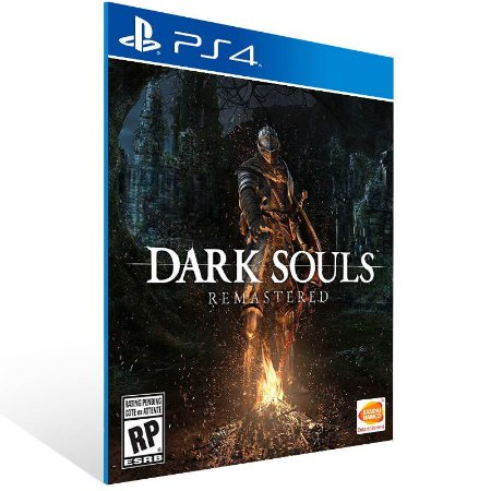 Dark Souls Remastered - Ps4 Psn Mídia Digital