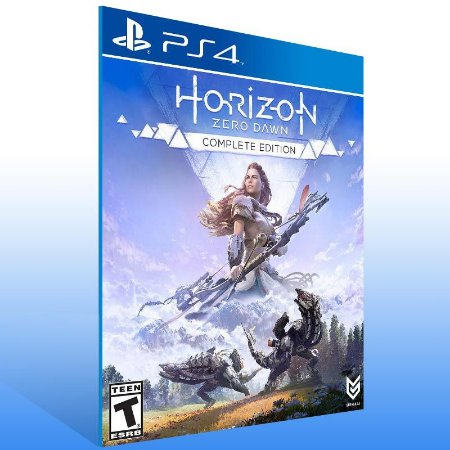 Horizon Zero Dawn Complete Edition - Ps4 Psn Mídia Digital