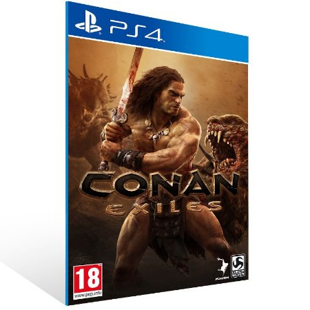 Conan Exiles - Ps4 Psn Mídia Digital