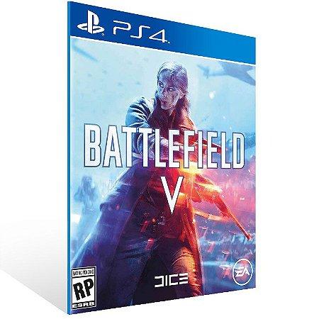 Battlefield V Standard Edition - Ps4 Psn Mídia Digital
