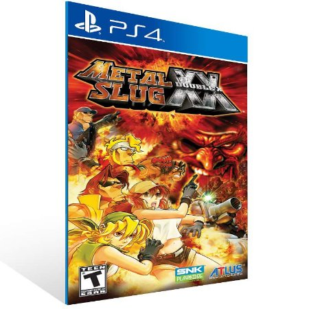 Metal Slug XX - Ps4 Psn Mídia Digital