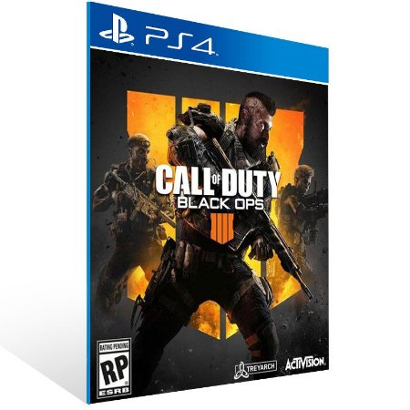 Call of Duty Black Ops 4 COD BO4 - Ps4 Psn Mídia Digital