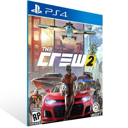 The Crew 2 - Ps4 Psn Mídia Digital