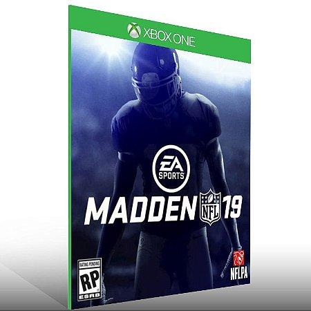Madden NFL 19 Edição Padrão - Xbox One Live Mídia Digital