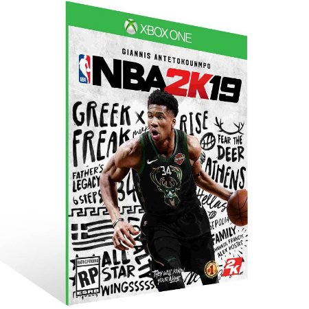 NBA 2K19 - Xbox One Live Mídia Digital