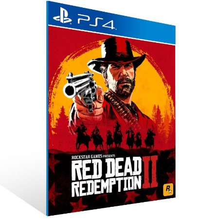Red Dead Redemption 2 - Ps4 Psn Mídia Digital