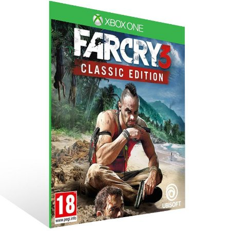 Far Cry 3 Classic Edition - Xbox One Live Mídia Digital