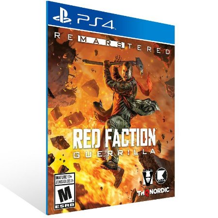 Red Faction Guerrilla Re-Mars-tered - Ps4 Psn Mídia Digital
