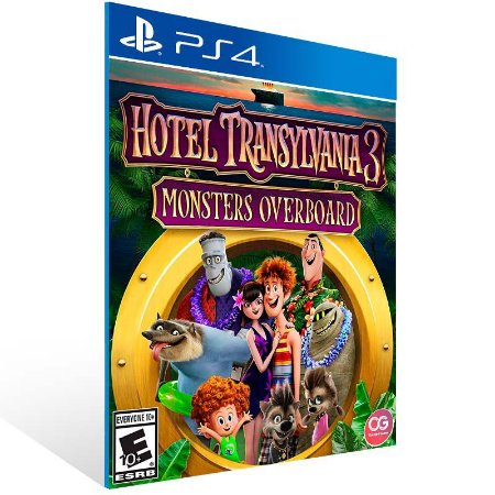 Hotel Transylvania 3 Monsters Overboard - Ps4 Psn Mídia Digital