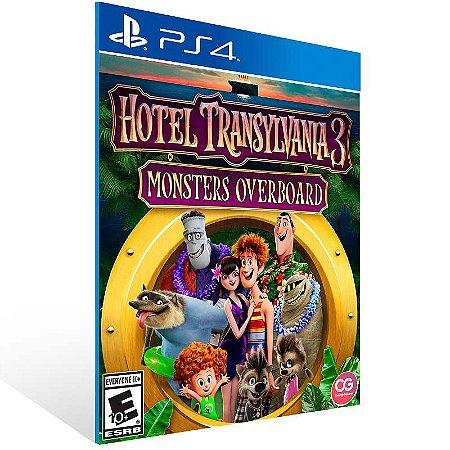 Hotel Transylvania 3 Monsters Overboard - Ps4 Psn Mídia Digital