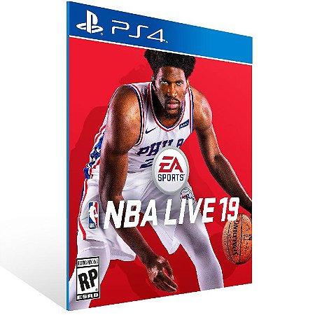 NBA LIVE 19 The One Edition - Ps4 Psn Mídia Digital