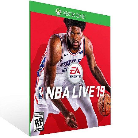 NBA LIVE 19 The One Edition - Xbox One Live Mídia Digital