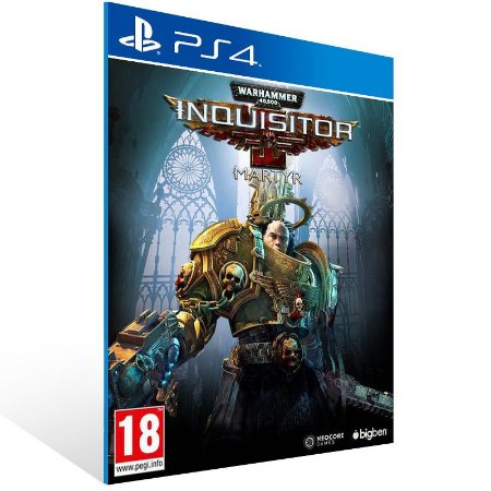 Warhammer 40,000 Inquisitor - Martyr - Ps4 Psn Mídia Digital