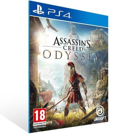 Assassins Creed Odyssey - Ps4 Psn Mídia Digital
