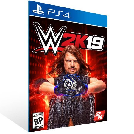 WWE 2K19 - Ps4 Psn Mídia Digital