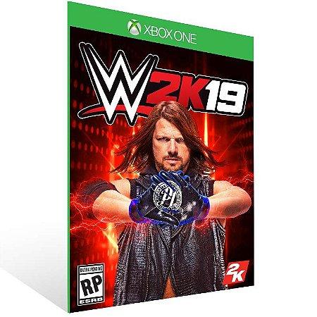 WWE 2K19 - Xbox One Live Mídia Digital