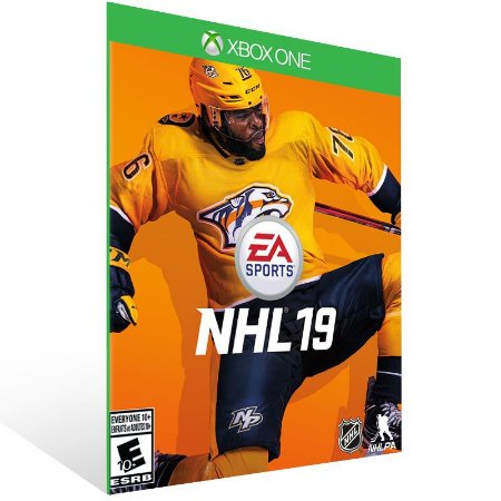 EA SPORT NHL 19 - Xbox One Live Mídia Digital