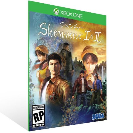Shenmue I & II - Xbox One Live Mídia Digital