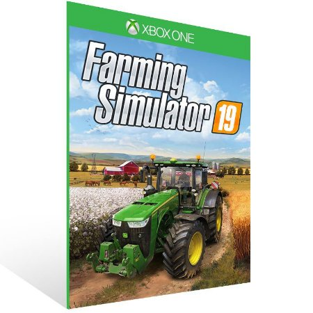 Farming Simulator 19 - Xbox One Live Mídia Digital