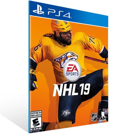 NHL 19 - Ps4 Psn Mídia Digital