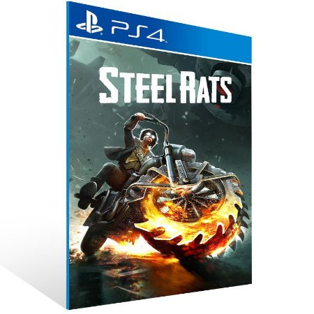 Steel Rats - Ps4 Psn Mídia Digital