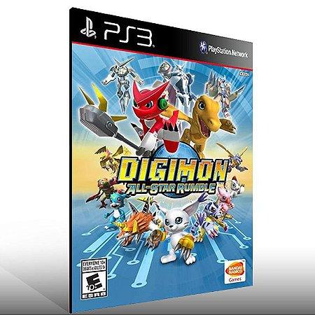 Digimon All-Star Rumble - Ps3 Psn Midia Digital