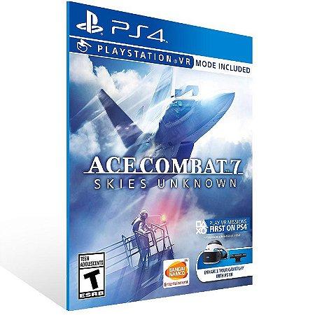 ACE COMBAT 7 SKIES UNKNOWN - Ps4 Psn Mídia Digital