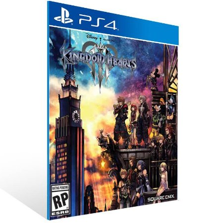 KINGDOM HEARTS III - Ps4 Psn Mídia Digital