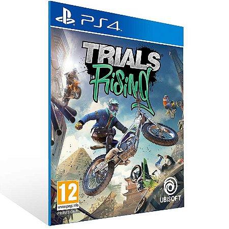 Trials Rising - Ps4 Psn Mídia Digital