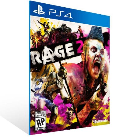 RAGE 2 - Ps4 Psn Mídia Digital