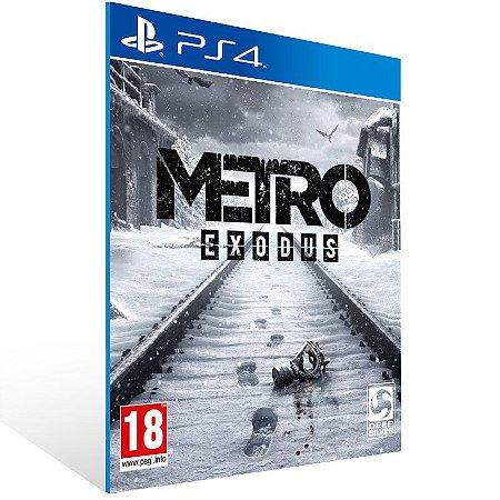 Metro Exodus - Ps4 Psn Mídia Digital