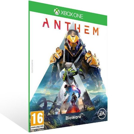 Anthem Edição Standard - Xbox One Live Mídia Digital