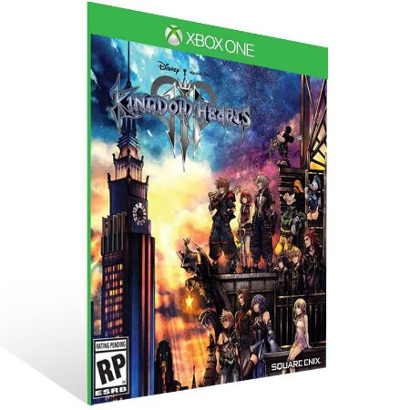 KINGDOM HEARTS III - Xbox One Live Mídia Digital
