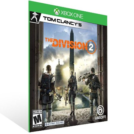 Tom Clancy's The Division 2 Standard Edition - Xbox One Live Mídia Digital
